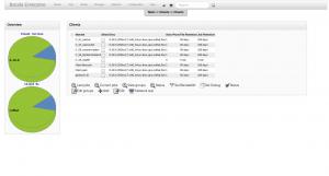 BWeb Bacula Web Interface - client list