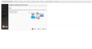 BWeb Bacula Web Interface - create new backup wizard 2