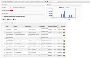 BWeb Bacula Web Interface - main page