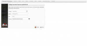 BWeb Bacula Web Interface - new client wizard 2