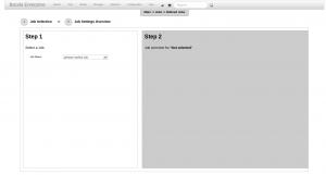 BWeb Bacula Web Interface - run backup wizard 1