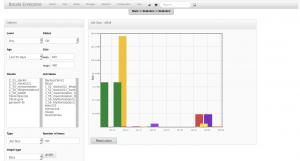BWeb Bacula Web Interface - statistics