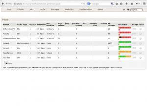 Bweb 02 - List volumes pools